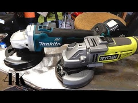 Ryobi Vs Makita Brushless Angle Grinder Witch One Is Best For You