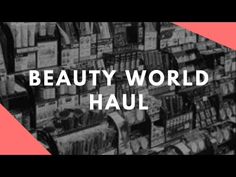 Beauty Supply Store Haul- Beauty World