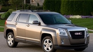 2013 GMC Terrain Start up and Review 2.4 L 4-Cylinder