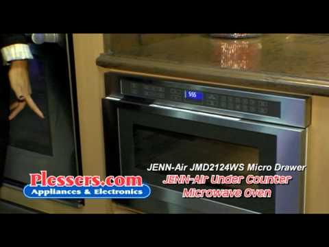 Jenn Air Microwave Drawer Jmd2124ws Plessers Liance