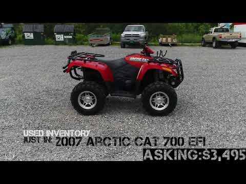 Arctic Cat 700 EFI ORANGE - Carns Equipment LLC Clearfield PA
