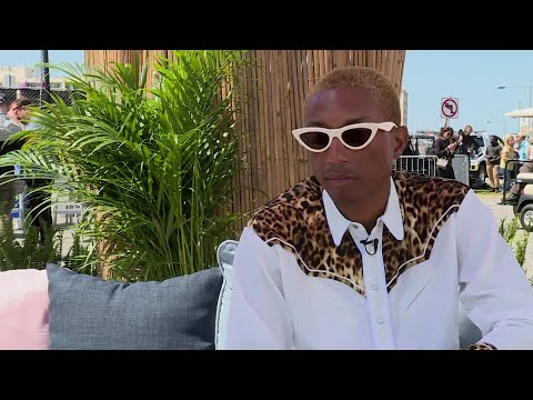 DJ DC - Pharrell Williams Talks About Something In The Water Success!!