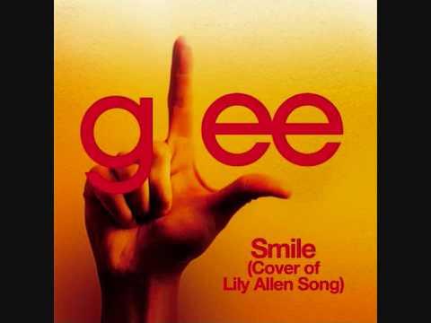 Glee - Smile (lily Allen) With Lyrics
