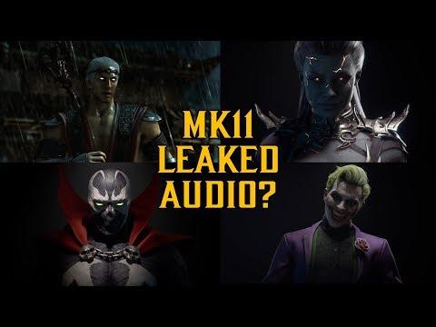 MK11 Leaked Audio