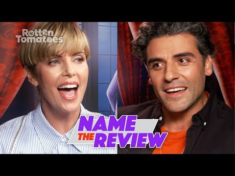 """The Addams Family's Charlize Theron and Oscar Isaac Play """"Name the Review"""""""