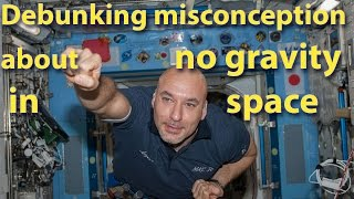 Debunking misconception about no gravity in space |Curiousminds 97
