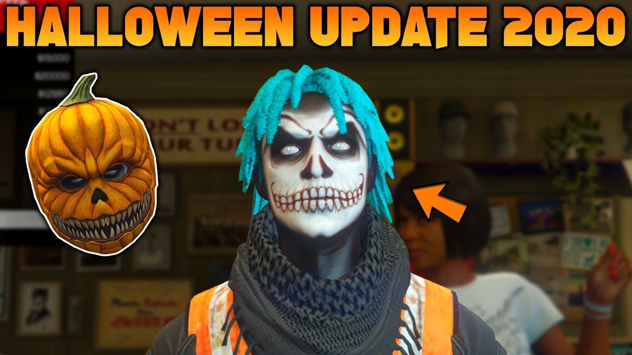 Halloween Mask 2020 V GTA 5 Online Halloween Update 2020   All Face Paints + Masks