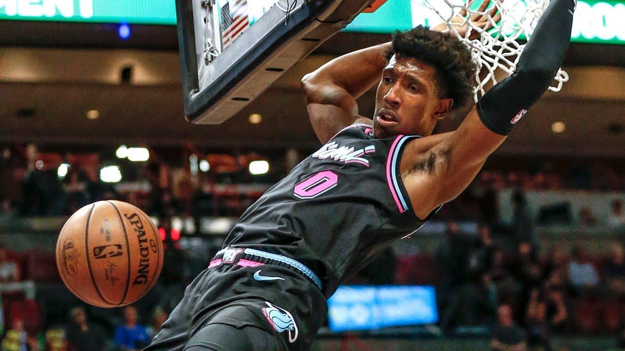 777656124 Miami Heat s Josh Richardson comments on Dwyane Wade - YouTube
