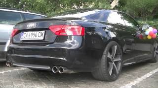 Audi S5 w/ Titanium Exhaust - LOUD REVS and Acceleration