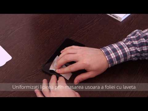 Tutorial instalare folie Tempered Glass   Ultra Smart Protection iPhone 7 Plus