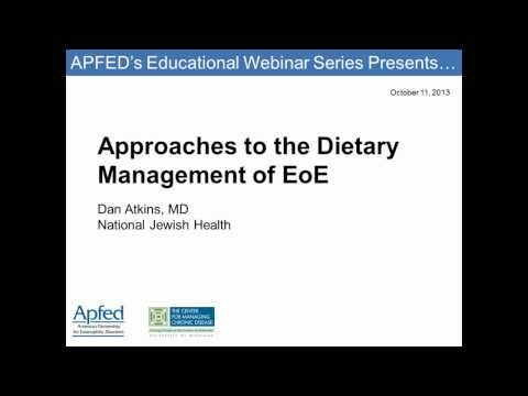 Approaches to the Dietary Management of EoE (Webinar Recording)