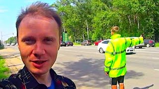 Как добраться с востока Украины в Москву БЕСПЛАТНО(Автостоп в зоне боёв. Мне пришло приглашение в Москву от YouTube на фестиваль Видео People для успешных авторов..., 2015-03-06T12:00:01.000Z)