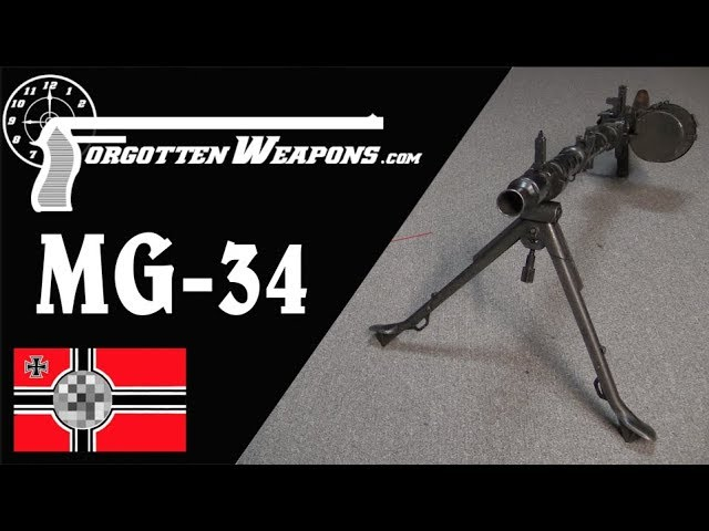 MG-34: The Universal Machine Gun Concept Standard quality (480p)