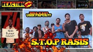 WOY !!! USIR PAPUA ??? Oncho FLash X Andho Aibah REACTION | STOP RASIS !!! KITA INDONESIA