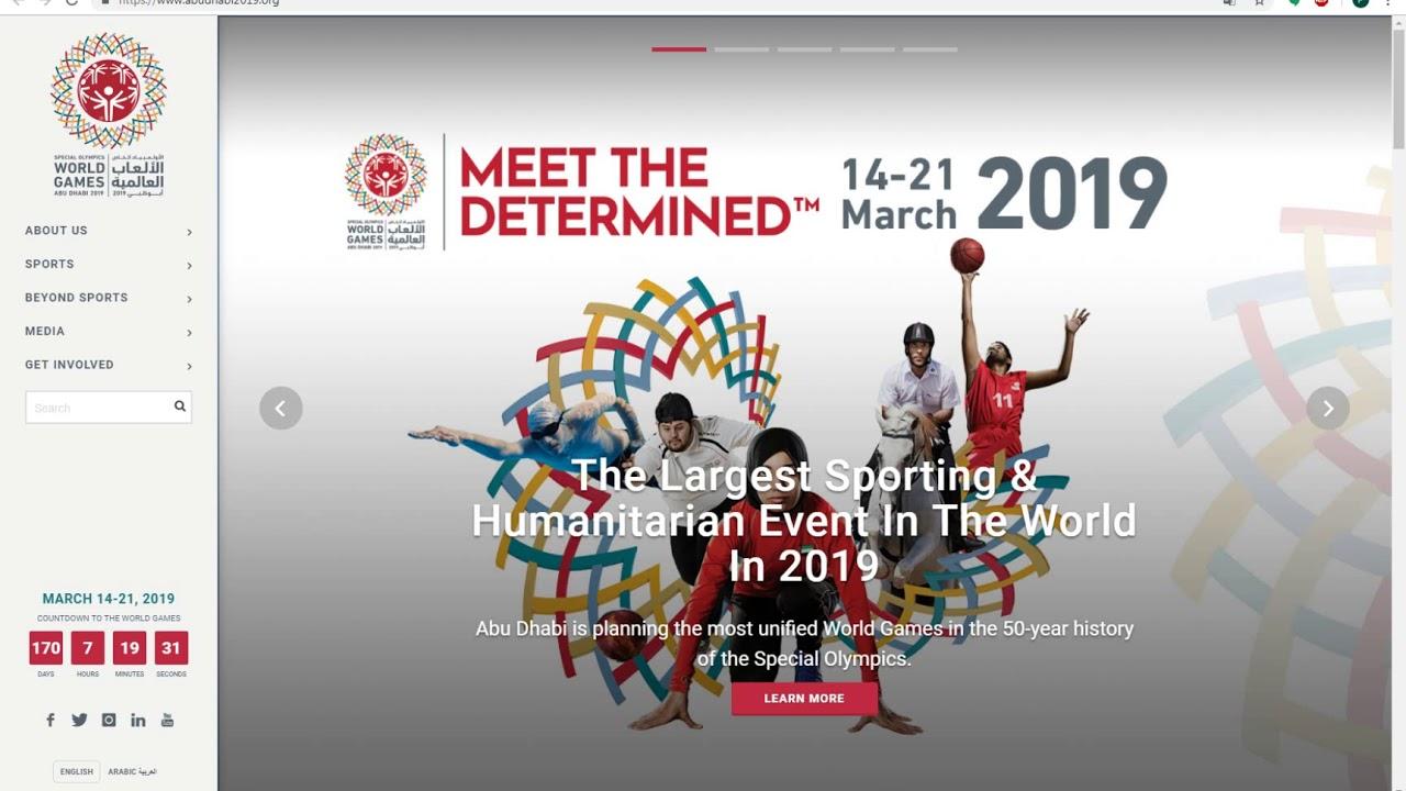2019 Special Olympics World Su...