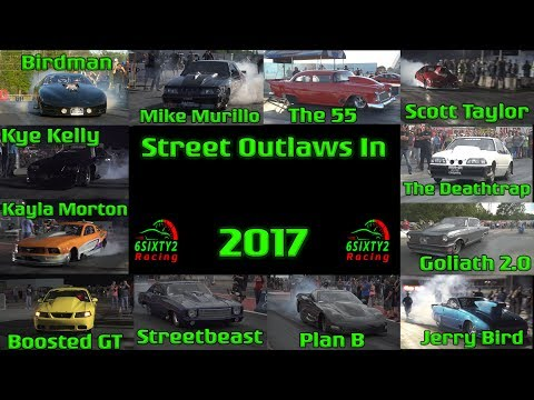 Street Outlaws in 2017 Compilation!!! (13 Races) (4k video)