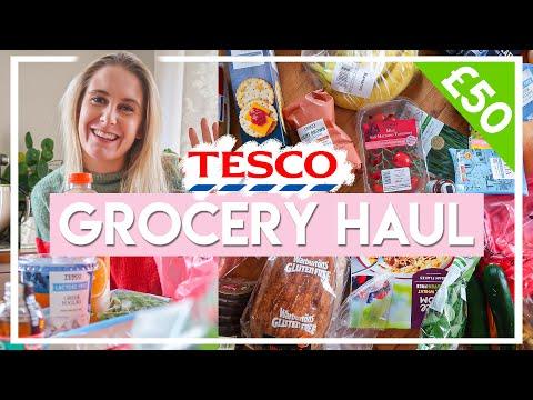 TESCO GROCERY HAUL + MEAL PLAN! �� Gluten free, low FODMAP haul