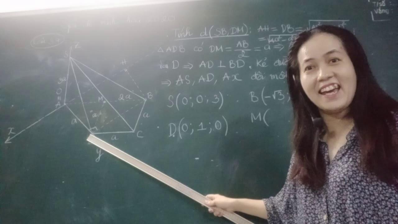 Giải chi tiết đề minh hoạ môn toán năm 2020 câu 37 theo cách dễ nhất