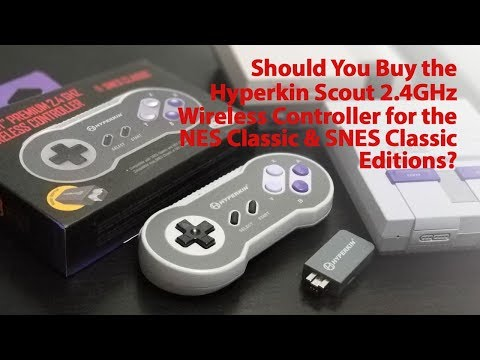 Should You Buy the Hyperkin Scout 2 4GHz Wireless Controller for the SNES & NES Classic Editions?