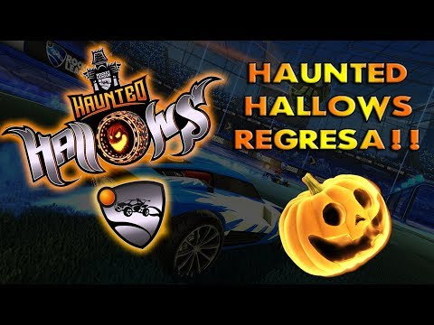 ¡¡EL EVENTO DE HALLOWEEN REGRESA!! HAUNTED HALLOW- Rocket League en Español thumbnail