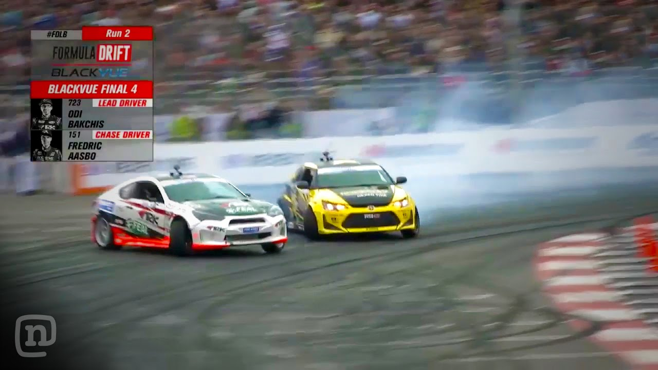 Formula Drift Long Beach Top Full Highlights Youtube