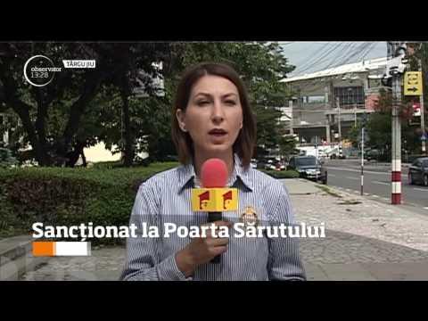Un turist din Republica Moldova a fost sancționat pentru că a atins Poarta Sărutului