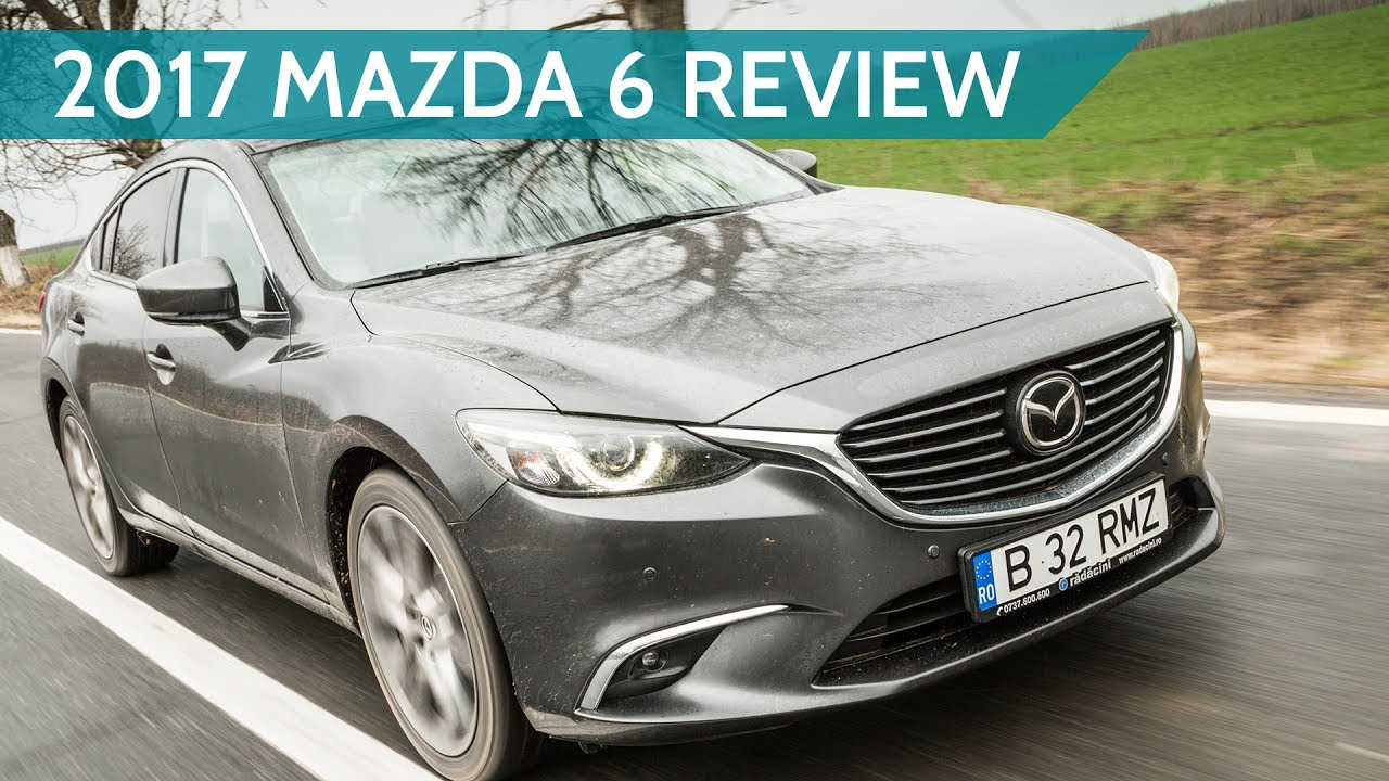 2017 Mazda 6 2 5 Skyactiv-G sedan review