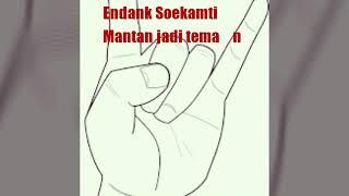 Endank Soekamti - mantan jadi teman ( lyric )