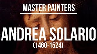 Andrea Solario (1460-1524) A collection of paintings 4K Ultra HD