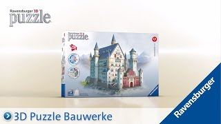 Ravensburger 3D Puzzle - Bauwerk Schloss Neuschwanstein