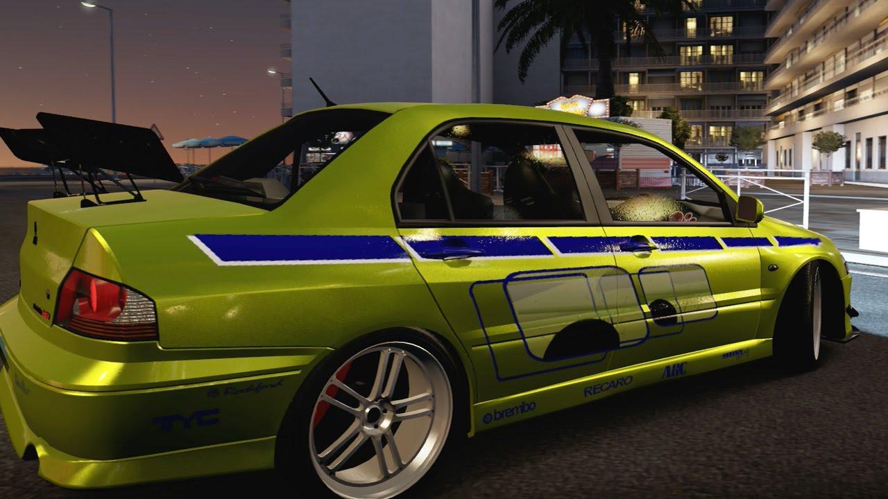 Forza Horizon 2 Fast Furious Cars BRIANS EVO