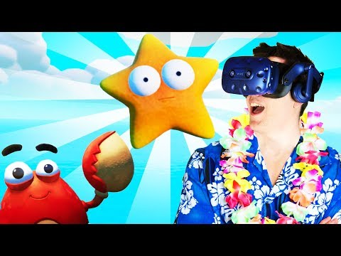 SECRET STARFISH FOUND! - Island Time VR Gameplay - VR HTC Vive Pro