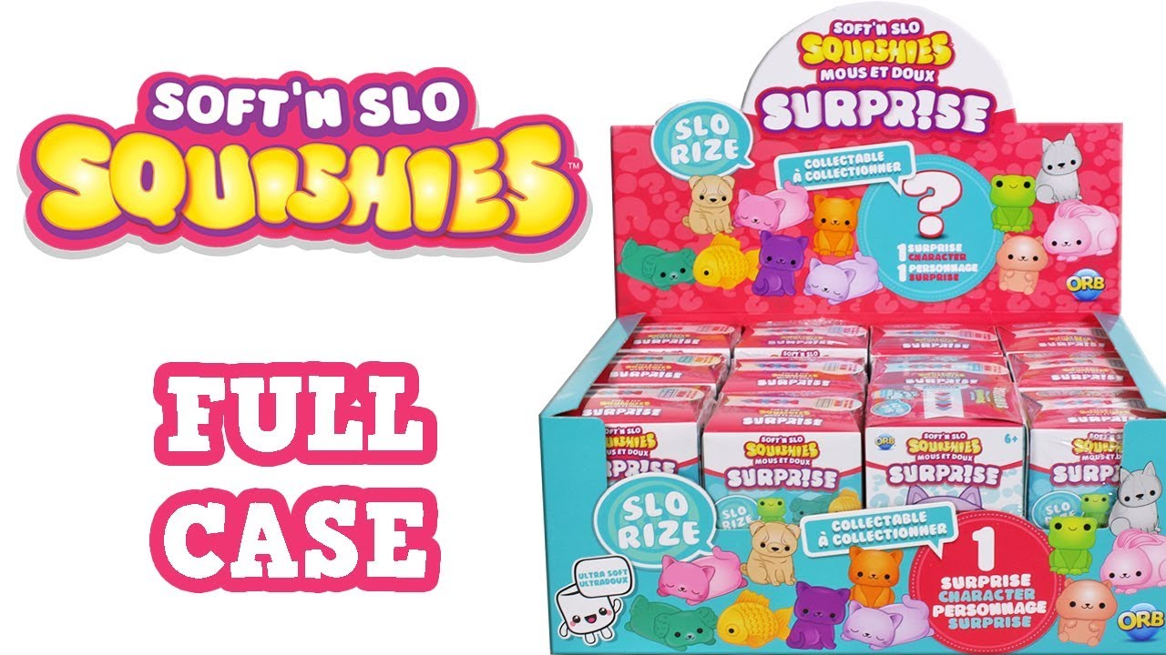 Soft N Slo Squishies Surprise Blind Box Unboxing Toy