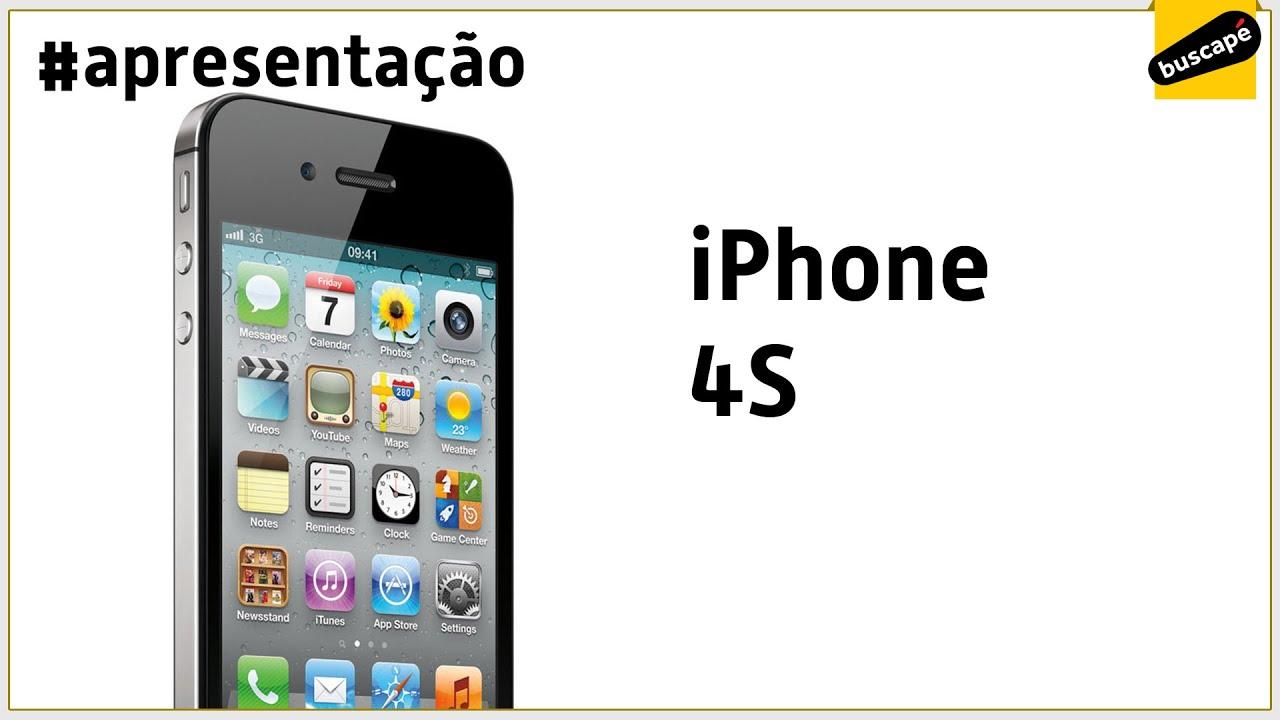 4aae9f6b2 iPhone 4S - Apresentação - YouTube