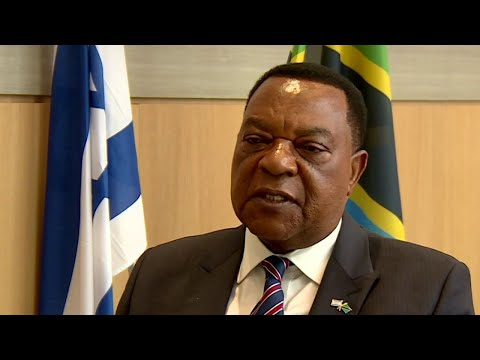 i24NEWS Exclusive: Tanzania's Foreign Minister on Regional Conflicts