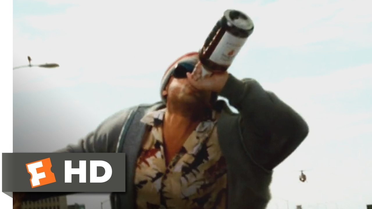 Charmant Hancock (2008)   Drunk Heroism Scene (1/10) | Movieclips