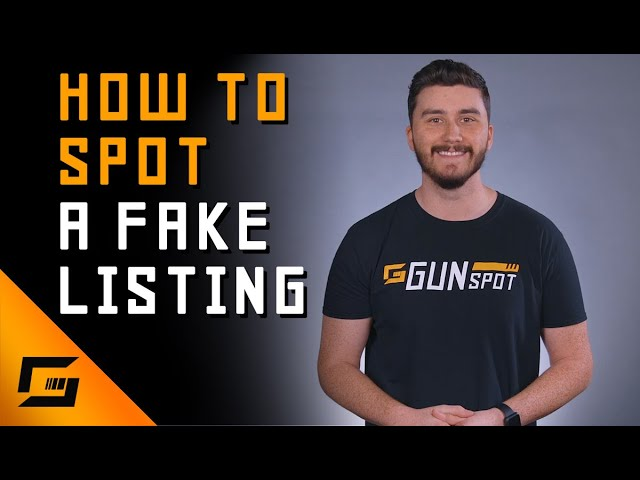 How To Spot A Scam Gun Listing!?