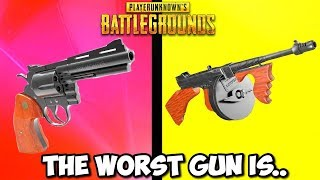 Top 10 WORST Guns In PUBG! (99% of noobs use these)