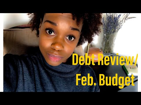 Debt Review/February Budget