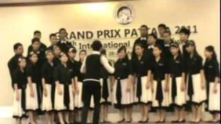 Video The Sarasas Ektra Chorus at the 4th Grand Prix Pattaya International Choir Festival download MP3, 3GP, MP4, WEBM, AVI, FLV Juli 2018