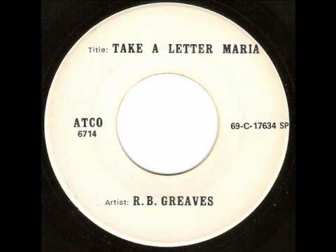 Greaves - Take A Letter Maria - YouTube