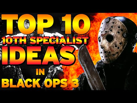 "Top 10 ""10th Specialist Ideas"" in BLACK OPS 3 (Top 10 - Top Ten) Call of Duty"