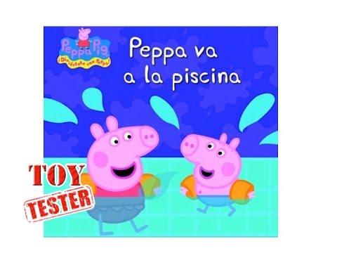 Peppa pig los mejores libros de cuentos infantiles para for Pepa en la piscina