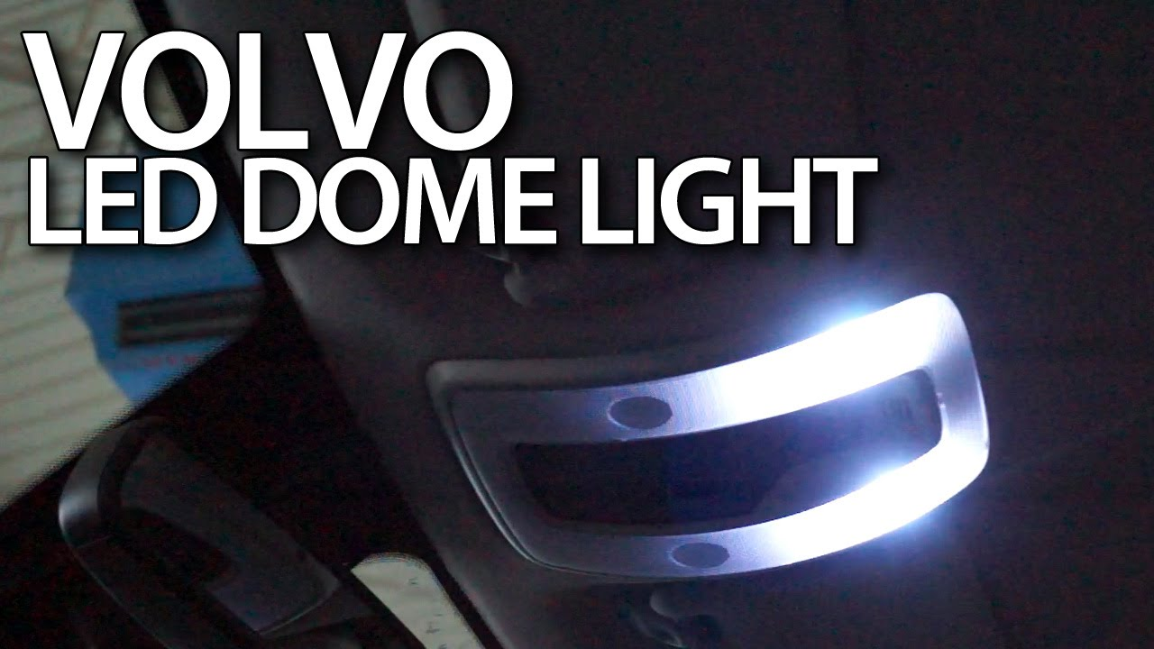 Plafoniere Per Auto A Led : Volvo interior dome light led conversion c s v