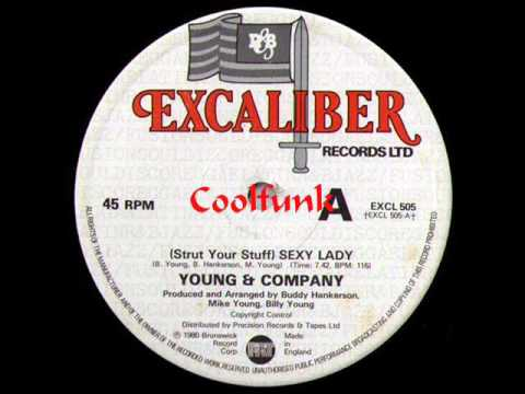Young Company Strut Your Stuff Y Lady 12 Funk 1980