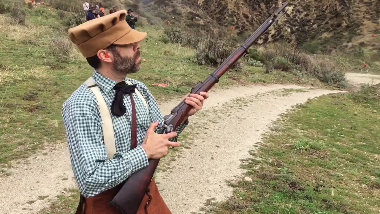Eric With His Werndl Rifle 186777 Youtube