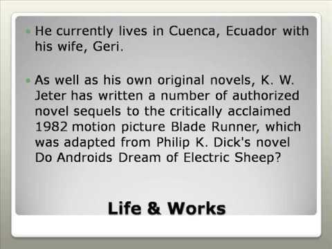 Kevin Wayne Jeter Life & Works
