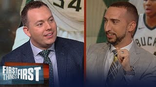 Bucks GM Jon Horst: Giannis is the clear MVP, talks East playoffs & more   NBA   FIRST THINGS FIRST