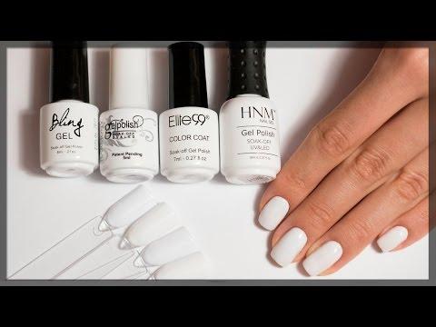 Черно-белые ногти: 50 модных идей