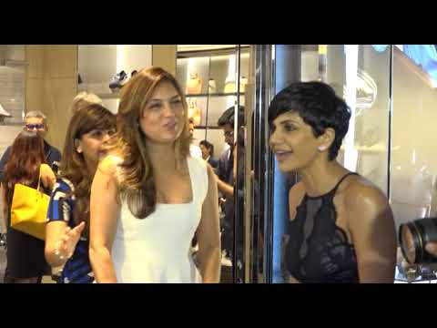 Bollywood Bhabhies Showing Assets at New Store Launch of TODS at Mumbai